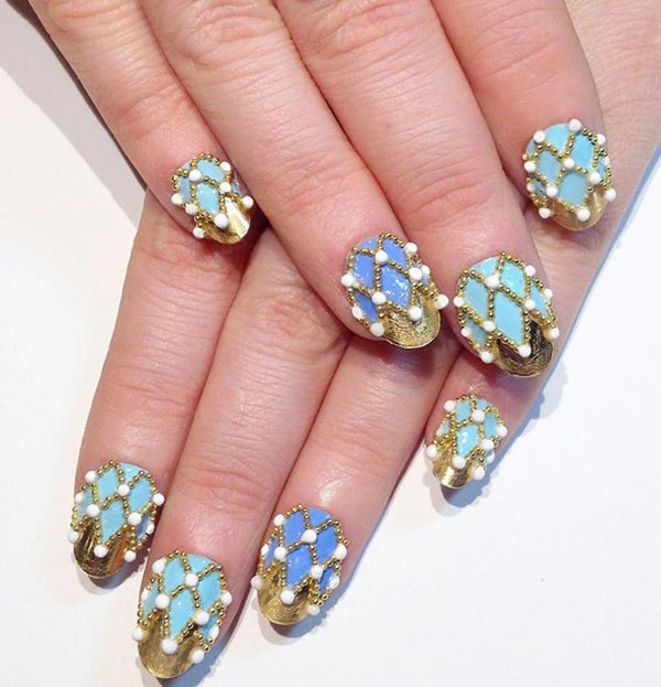 Modern classy nail art designs you can try nailkart 7classynailartdesignsforshortnails7 acryllic acrylic nail art designs prinsesfo Image collections