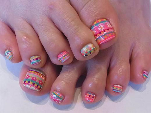 Easter-Toe-Nail-Art-Designs-Ideas-Trends-Stickers-2015-4