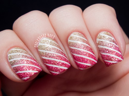 Lovely-Striped-Nail-Art-Design-Ideas