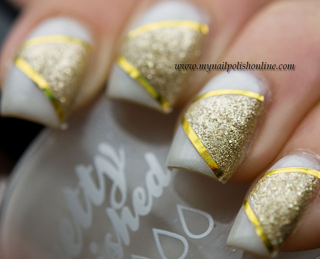 Nailart-white-striping-tape