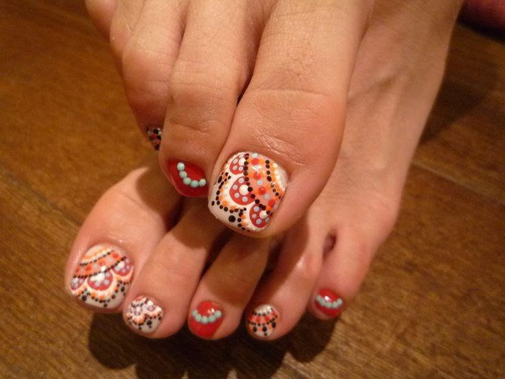 Thanksgiving-Toe-Nail-Art-Designs-2014-Step-By-Step-For-Girls