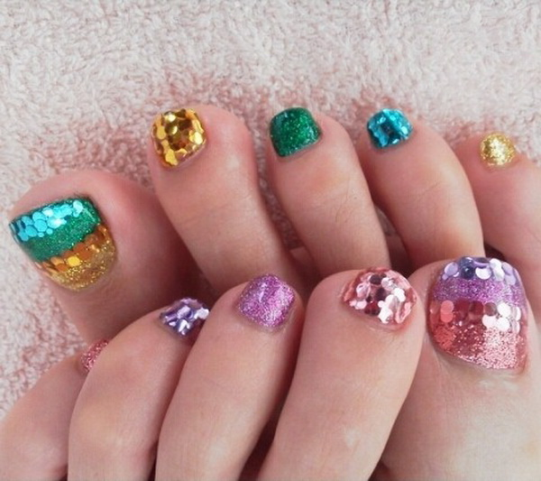 nail art designs for feet – NAILKART.com