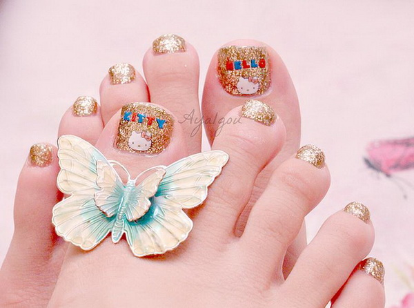 Top-Ideas-Feet-Designs-For-Nail-Art-For-Girls-Party-Wedding-4