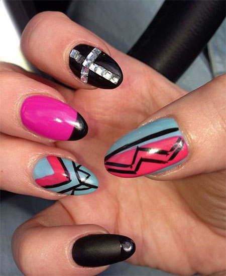 acrylic nail art designs