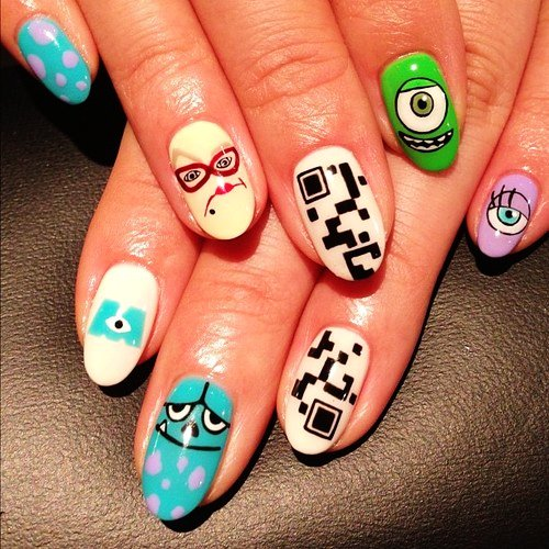 beautiful nail art for girls-f88818