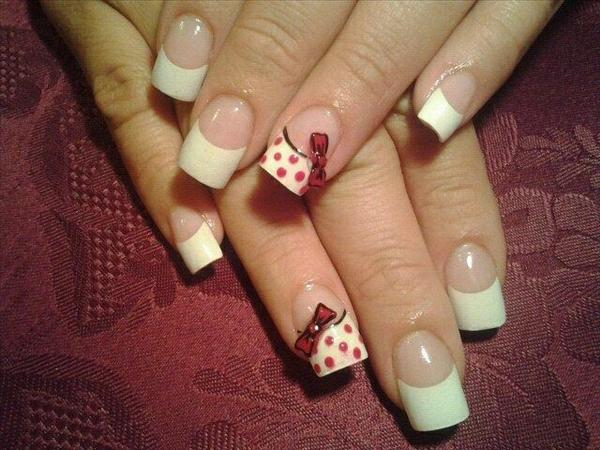 bow-desings-french-nail