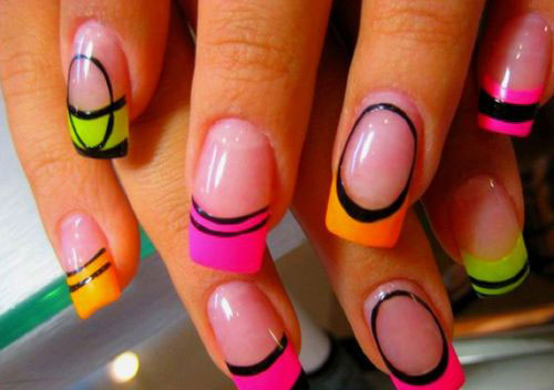 Amazing fake nails