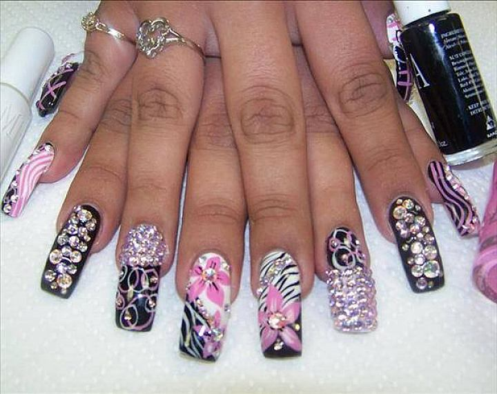long artificial nails