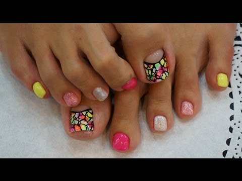 how-to-art-pedicure-gel-nail-art