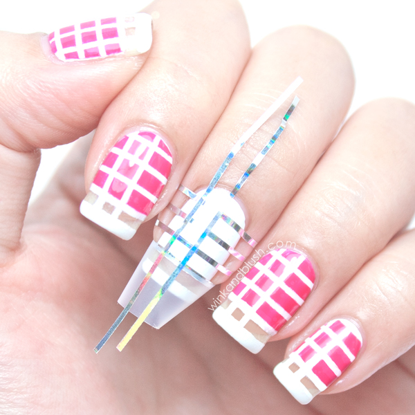 Tape Nail Art Designs: 40+ Beautiful Nail Arts That You Can Do With Nail Stripes