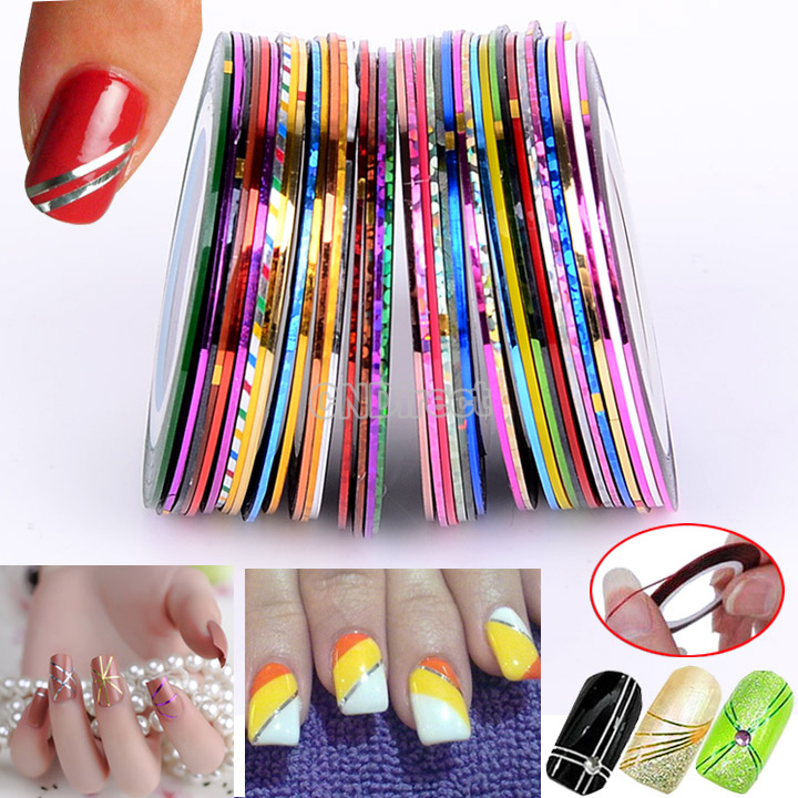 nail art stiping tapes