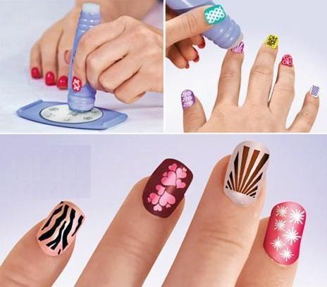 Nails stamping plates