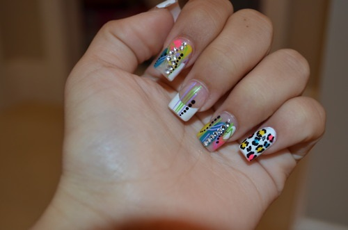 acrylic-cheeta-nails