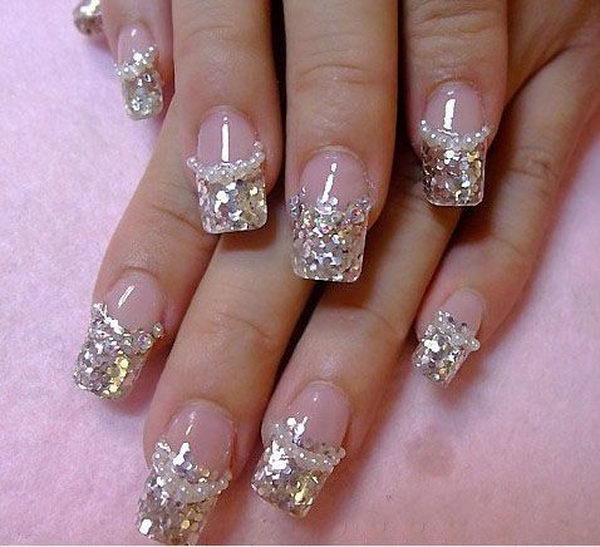 12-glitter-3d-diamonds-nail-design