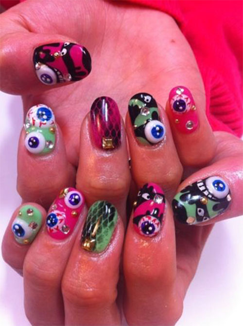 3d Nail art stickers