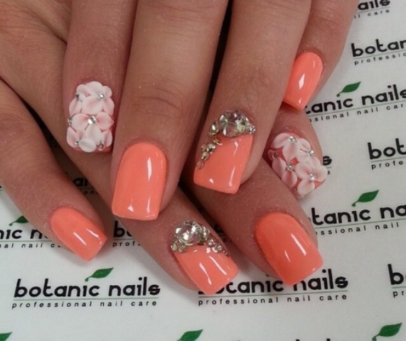 Best Summer Acrylic Nail Art Design Ideas For 2016: 25+ Beautiful Acrylic Nail Art Designs