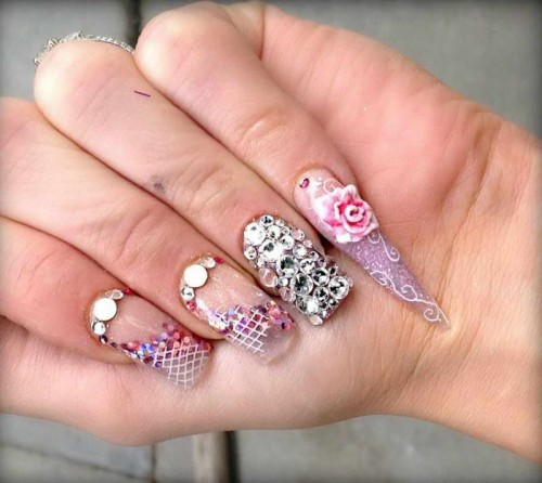 Diamond-Nail-Designs