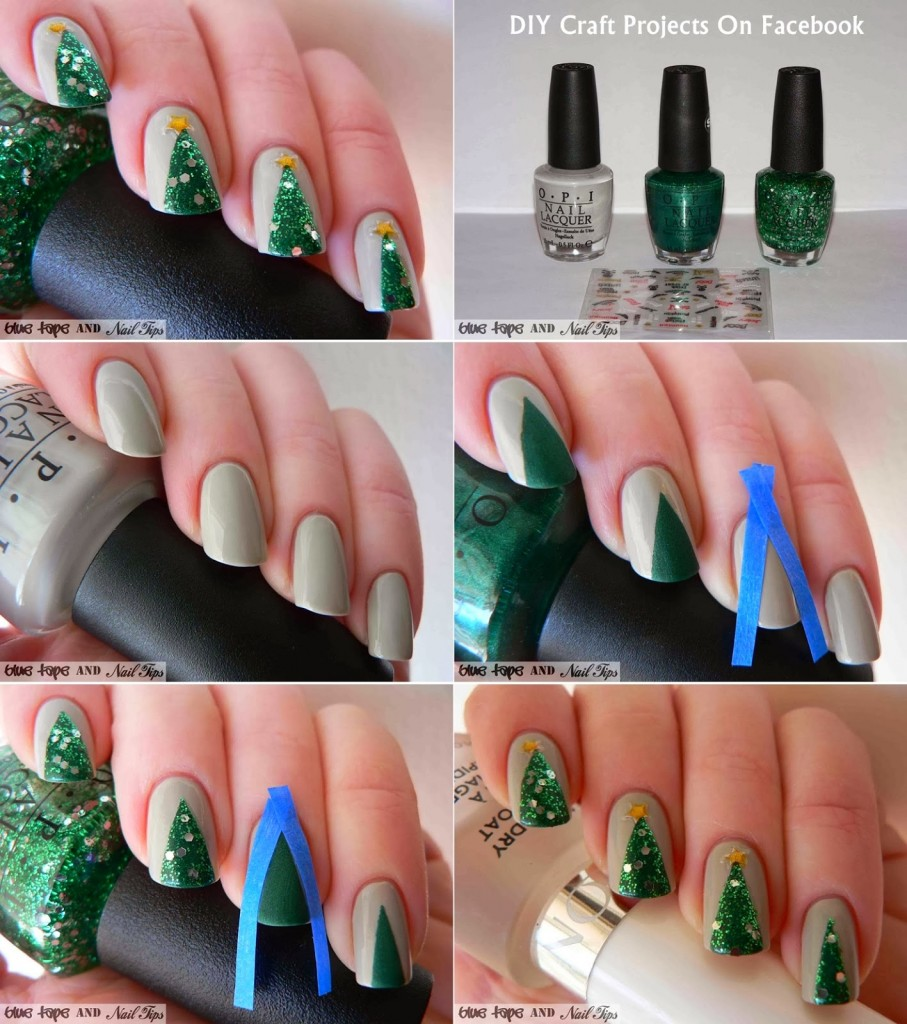 nail art designs step by step at home without tools