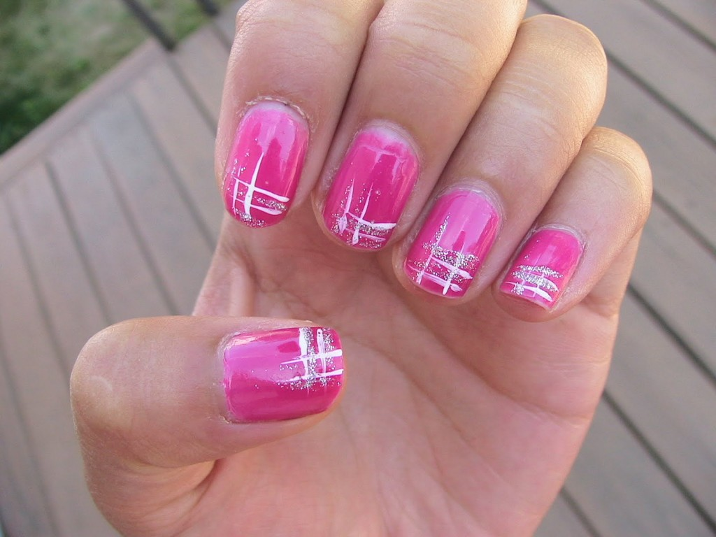 25 Beautiful Acrylic Nail Art Designs