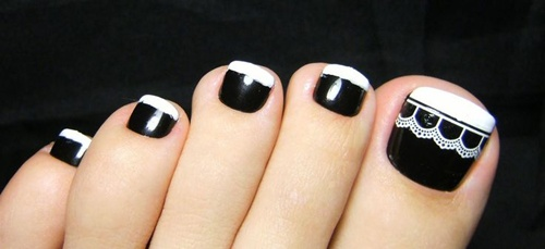 nail art ideas for feet