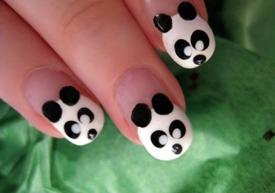 22 simple and easy nail art designs you can do yourself for Easy wallpaper ideas