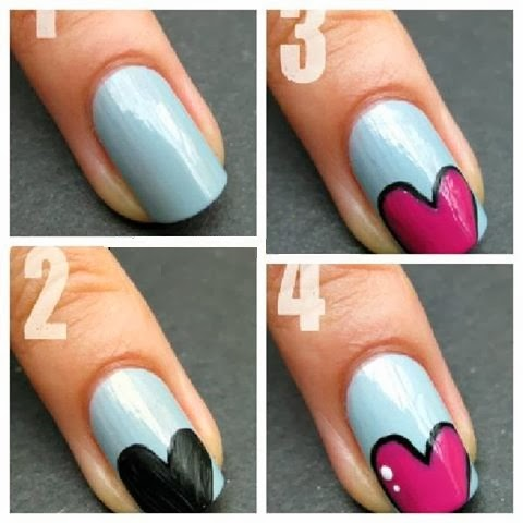 nail art ideas easy step by step