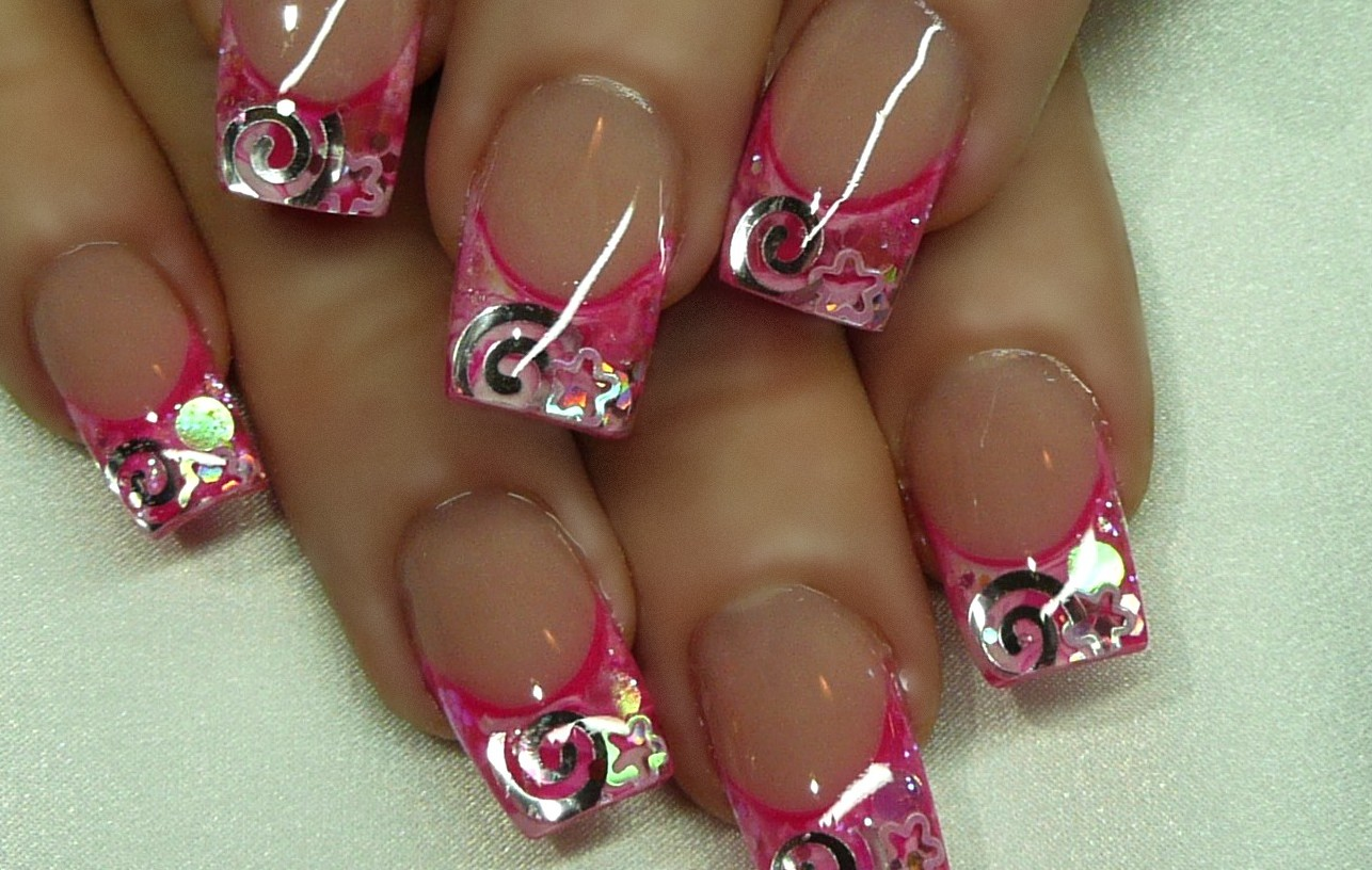 25 beautiful acrylic nail art designs for Acrylic nail decoration