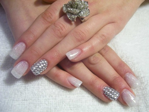 Nail Art Designs Stones Nailarts Ideas