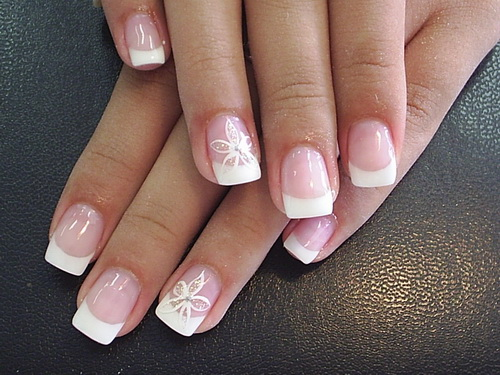 short acrylic nails designs