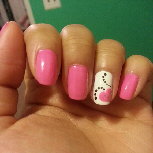 22 simple and easy nail art designs you can do yourself Nail design ideas to do at home