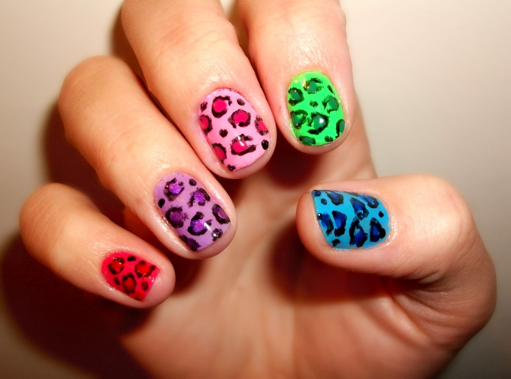 alternative color nail art designs