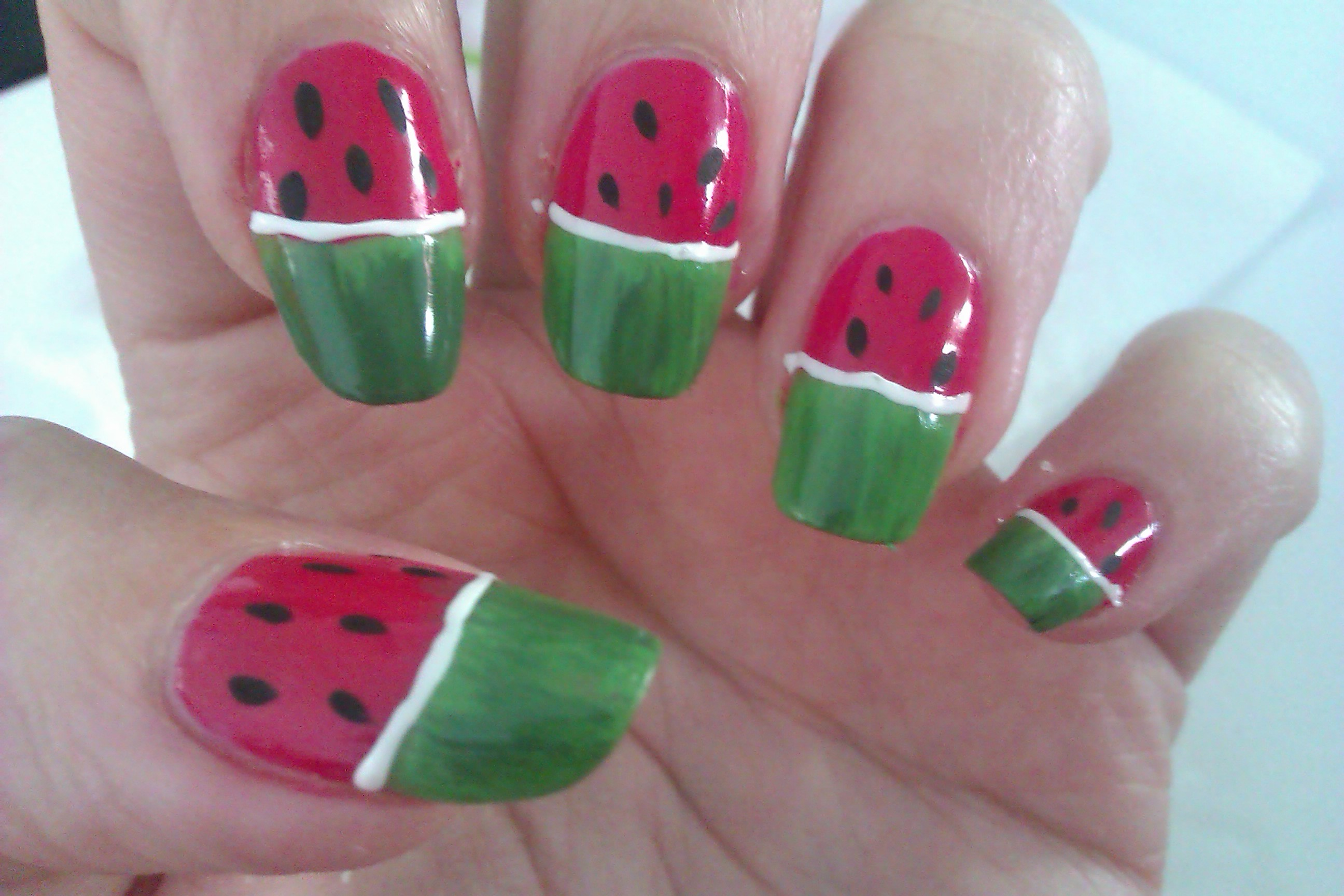 Simple beautiful nail art designs Cool nail design ideas at home