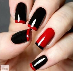Red-and-Black-Nails