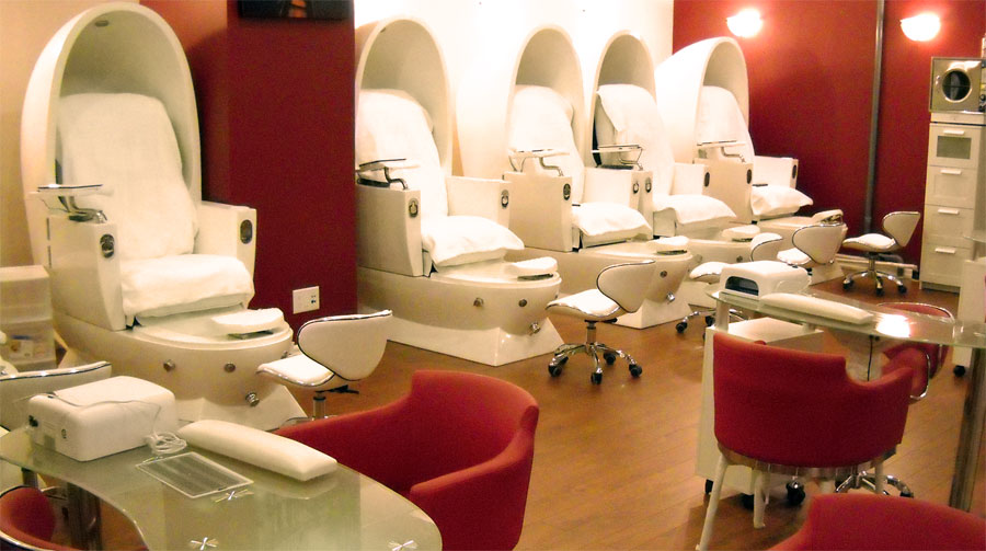 top 35 images of nail salons interior