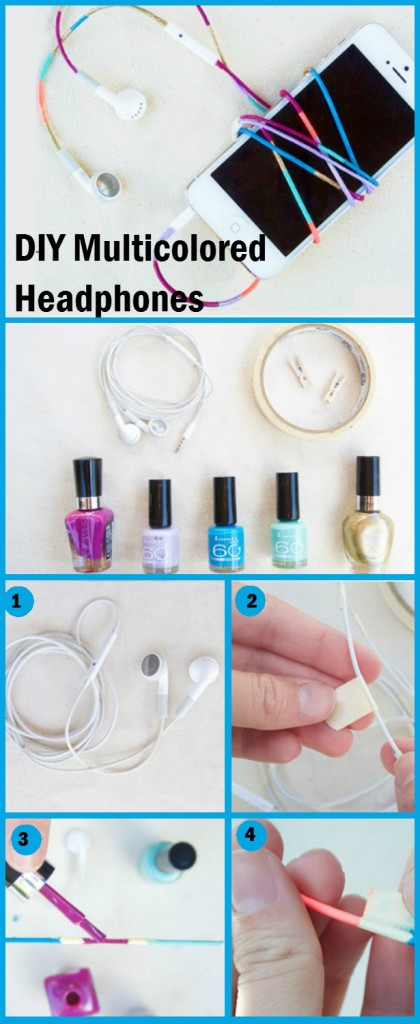 diy projects with nail polish