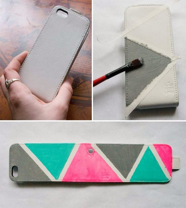 phone case diy nail polish