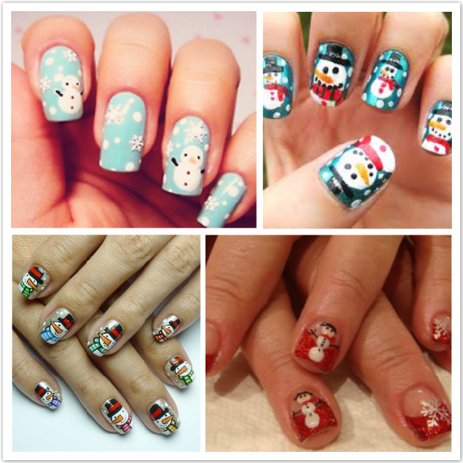 nail art ideas - Christmas Nail Art Nail Designs For Occasions – NAILKART.com