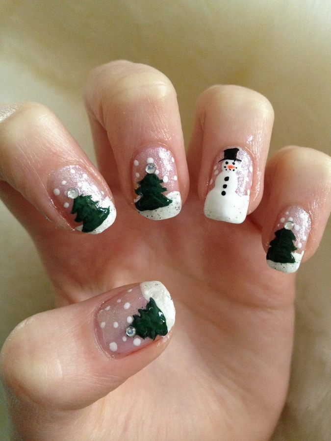 Christmas Nail Art Nail Designs For Occasions Nailkart