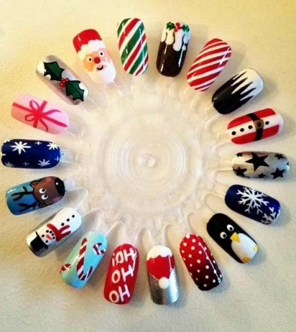 Christmas nail art nail designs for occasions nailkart nail designs ideas prinsesfo Choice Image