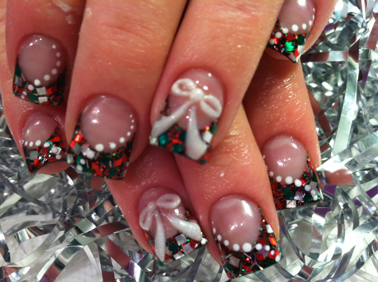 Christmas nail art nail designs for occasions nailkart cute nail art ideas prinsesfo Choice Image